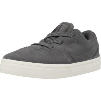 Schoenen Jongens Lage sneakers Nike SB CHECK SUEDE Grijs