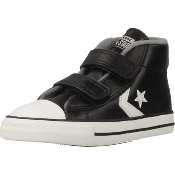 Schoenen Jongens Hoge sneakers Converse STAR PLAYER 2V MID Zwart