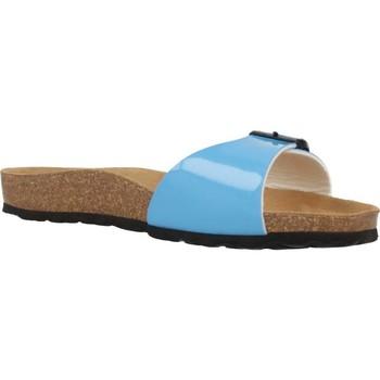 Schoenen Dames Leren slippers Antonio Miro 316601 Blauw