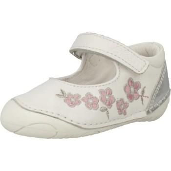 Schoenen Meisjes Derby & Klassiek Chicco DIXY Wit