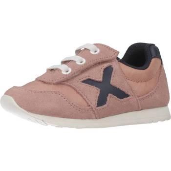 Schoenen Meisjes Lage sneakers Munich 1700019 Roze