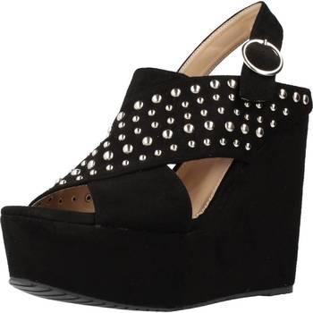 Schoenen Dames Sandalen / Open schoenen Different 64 8549 Zwart