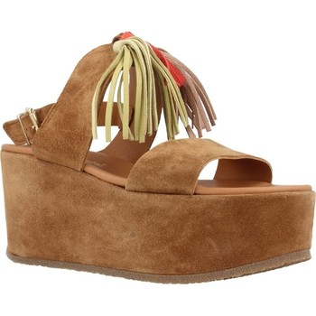 Schoenen Dames Sandalen / Open schoenen Alpe 3424 11 Bruin