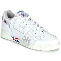 Schoenen Lage sneakers Reebok Classic WORKOUT PLUS MU Wit / Blauw / Rood