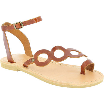 Schoenen Dames Sandalen / Open schoenen Attica Sandals APHRODITE CALF DK-BROWN marrone