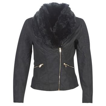 Textiel Dames Leren jas / kunstleren jas Only ONLCLASSY Zwart