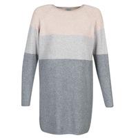 Textiel Dames Korte jurken Only ONLLILLO Grijs / Roze