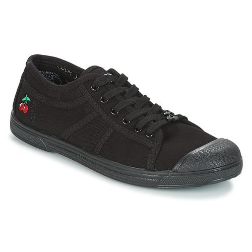 Schoenen Dames Lage sneakers Le Temps des Cerises BASIC 02 MONO Zwart