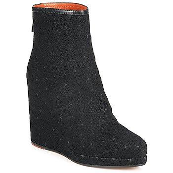 Schoenen Dames Enkellaarzen Missoni TONSU Zwart