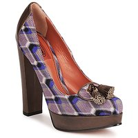 Schoenen Dames pumps Missoni RASHEL Violet / Brown