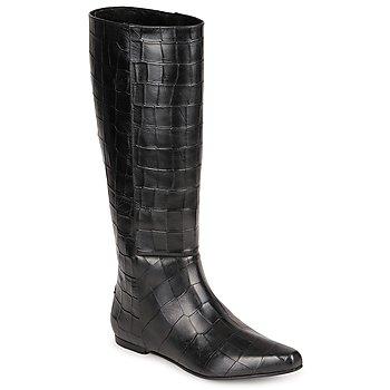 Schoenen Dames Hoge laarzen Roberto Cavalli SPS749 Zwart