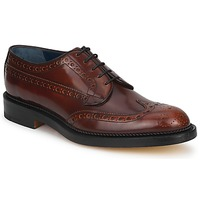 Schoenen Heren Derby Barker ANDERSON Brown