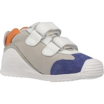 Schoenen Jongens Lage sneakers Biomecanics SANDALIA SAUVAGE REJULLA Wit