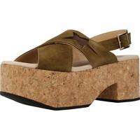 Schoenen Dames Sandalen / Open schoenen Clover 7129C Groen