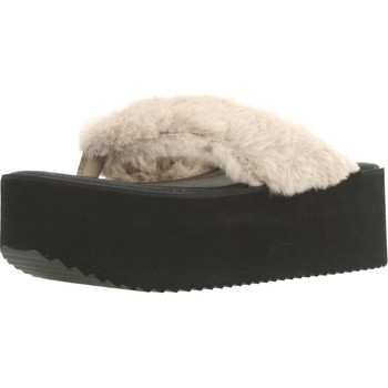 Schoenen Dames Slippers Clover 89828 Bruin