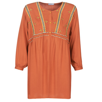 Textiel Dames Korte jurken Betty London LOULIA Orange