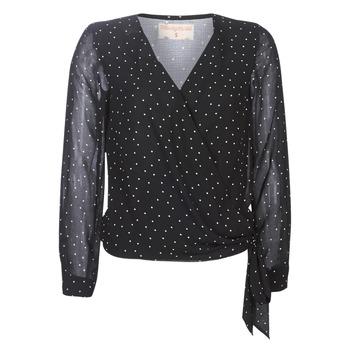 Textiel Dames Tops / Blousjes Moony Mood LUKE Zwart
