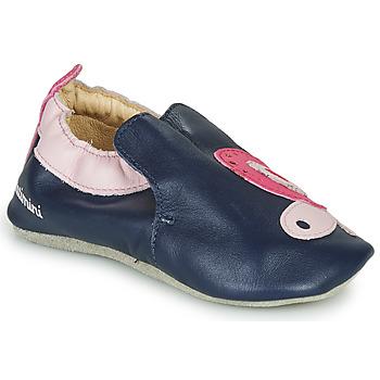 Schoenen Meisjes Sloffen Catimini CITOLA Marine / Roze