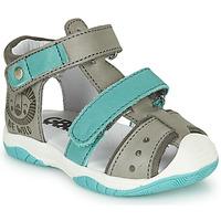 Schoenen Jongens Sandalen / Open schoenen GBB EUZAK Grijs / Blauw