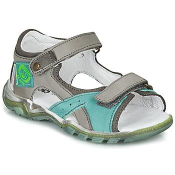 Schoenen Jongens Sandalen / Open schoenen GBB EROPE Grijs / Blauw