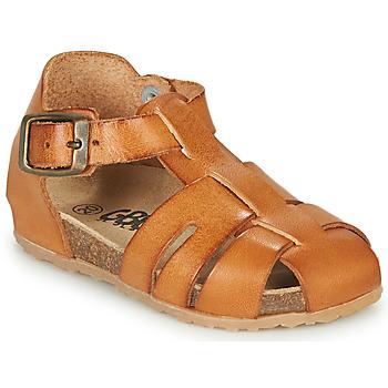 Schoenen Jongens Sandalen / Open schoenen GBB FREDERICO Cognac