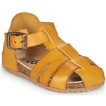 Schoenen Jongens Sandalen / Open schoenen GBB FREDERICO Mosterd