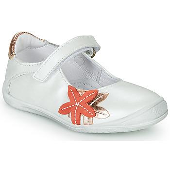 Schoenen Meisjes Ballerina's GBB EMILIETTE Wit
