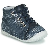 Schoenen Meisjes Hoge sneakers GBB OLSA Blauw
