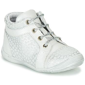Schoenen Meisjes Hoge sneakers GBB OMANE Grijs / Wit