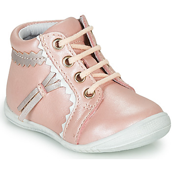 Schoenen Meisjes Hoge sneakers GBB ACINTA Roze