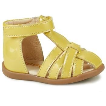 Schoenen Meisjes Sandalen / Open schoenen GBB AGRIPINE Geel
