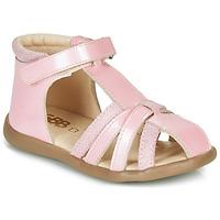 Schoenen Meisjes Sandalen / Open schoenen GBB AGRIPINE Roze