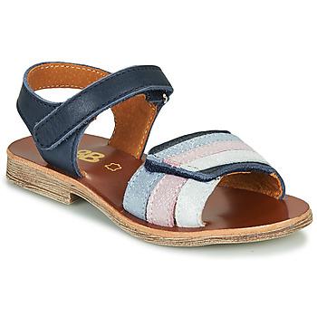 Schoenen Meisjes Sandalen / Open schoenen GBB MIMOSA Marine