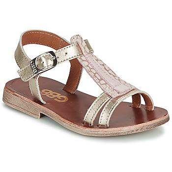 Schoenen Meisjes Sandalen / Open schoenen GBB LAZARO Goud