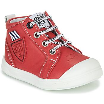 Schoenen Jongens Hoge sneakers GBB GREGOR Rood