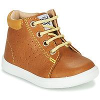 Schoenen Jongens Hoge sneakers GBB FOLLIO Cognac