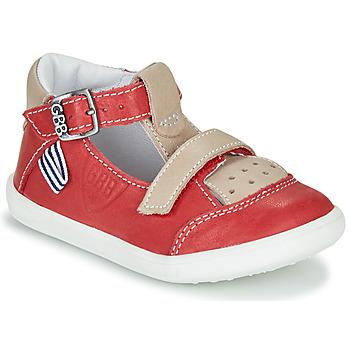 Schoenen Jongens Sandalen / Open schoenen GBB BERETO Rood