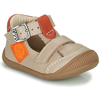 Schoenen Jongens Sandalen / Open schoenen GBB BOLINA Beige / Orange
