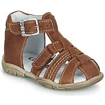 Schoenen Jongens Sandalen / Open schoenen GBB ARIGO Brown