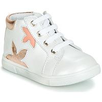 Schoenen Meisjes Hoge sneakers GBB ALEXA Wit