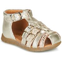 Schoenen Meisjes Sandalen / Open schoenen GBB PERLE Goud