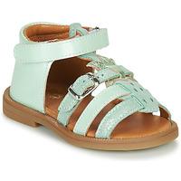 Schoenen Meisjes Sandalen / Open schoenen GBB CARETTE Groen