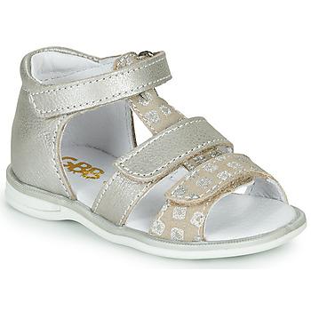 Schoenen Meisjes Sandalen / Open schoenen GBB NAVIZA Beige