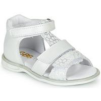 Schoenen Meisjes Sandalen / Open schoenen GBB NAVIZA Wit