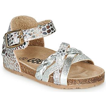 Schoenen Meisjes Sandalen / Open schoenen GBB ALECTA Zilver
