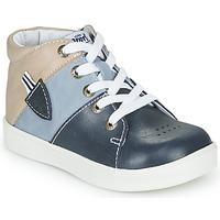 Schoenen Jongens Hoge sneakers GBB AMOS Blauw / Grijs