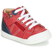 Schoenen Jongens Hoge sneakers GBB ANATOLE Rood