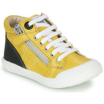 Schoenen Jongens Hoge sneakers GBB ANATOLE Geel