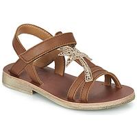 Schoenen Meisjes Sandalen / Open schoenen GBB SAPELA Brown