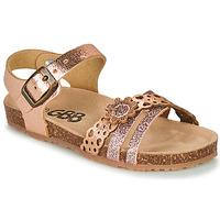Schoenen Meisjes Sandalen / Open schoenen GBB PANORA Roze / Gold